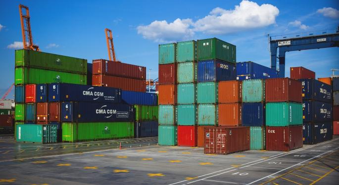 International Container Volume, Shipping Rates Highlight Weakness In Imports From China