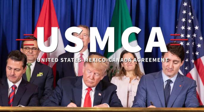 Business Leaders And Lawmakers Urge Trump To Delay USMCA Launch