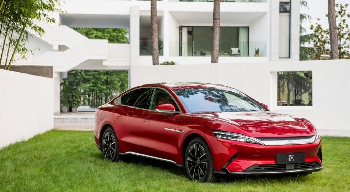 BYD duplicó la venta de coches eléctricos en junio