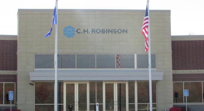 CH Robinson Gets A Double Upgrade From Bank Of America