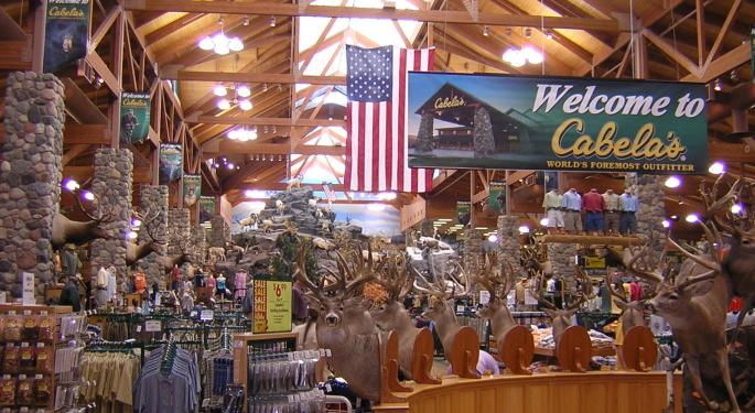 Cabela's Could Be Open To A Lower Price If Bass Pro Shops Reworks Deal, Says MKM Partners