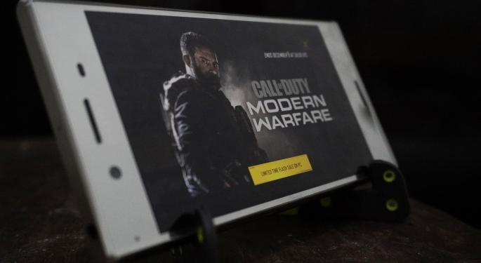 Stock Wars: Activision Blizzard Vs. Electronic Arts Vs. Take-Two