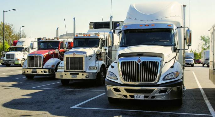 Trucking Might Be Having Its Worst Year Since 2007, Says JPMorgan