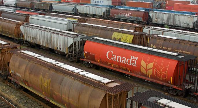 Canadian Railroads Shatter Previous May Grain Records