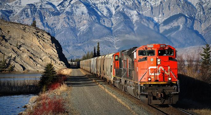 CN 'Cautiously Optimistic' On Rail Volumes