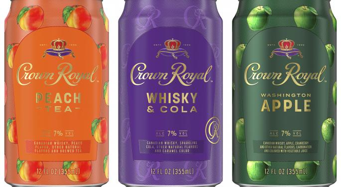 Diageo Debuts Ready-To-Drink Crown Royal Canned Cocktails