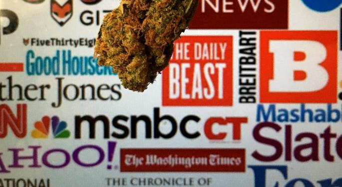 Green Market Report Debuts With Intentions Of Becoming The 'CNBC Or Dow Jones Of Cannabis'