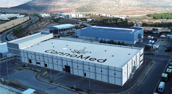 Israeli Cannabis Producer CannoMed Eyes European Market, Builds Cultivation Facility
