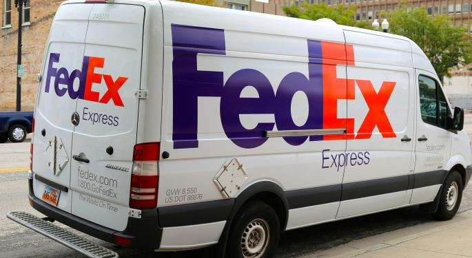 FedEx Posts Lower But In-Line EPS In Fiscal Third Quarter; Net, Operating Income, Margins Sharply Down