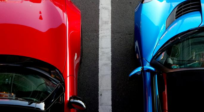 Automakers' March Numbers Deflate Share Prices