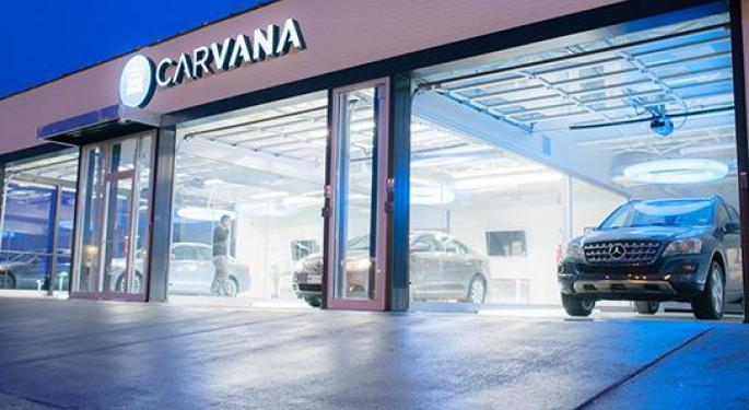 Wells Fargo On Carvana: Cash Infusion Adds Growth Optionality