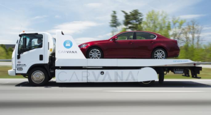 Consumer Demand Fuels Carvana Upgrade