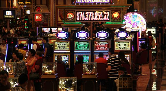 Why Casino Stocks Are Trading Higher Today