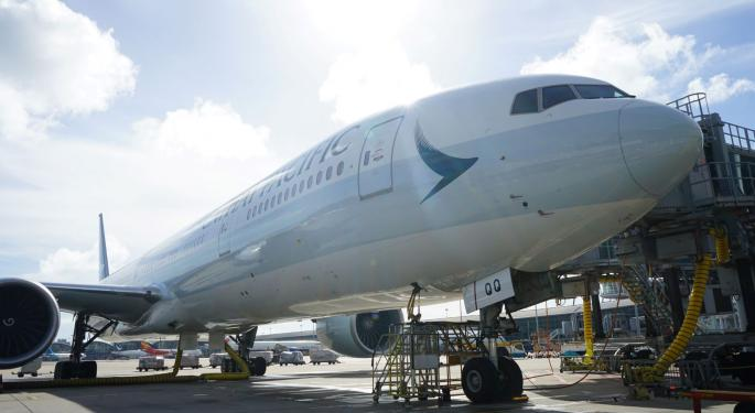Cathay Pacific Strips Seats From 777 Aircraft For Cargo