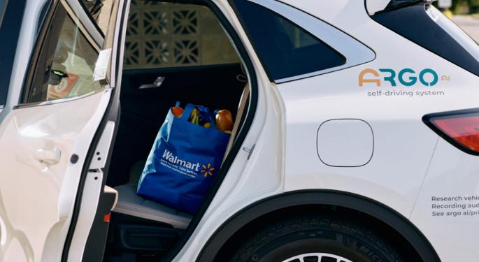 Walmart Signs Autonomous Last Mile Delivery Deal With Ford, Argo AI: What Investors Should Know About $7.5B Private Company
