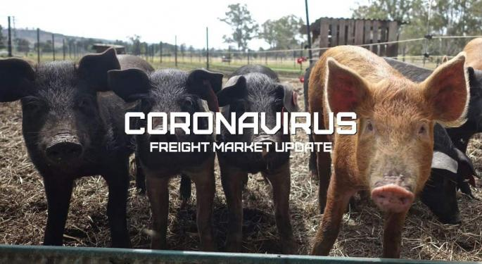 How A Hog Plant Shutdown Hits Freight – Coronavirus Freight Market Update With Vdeo