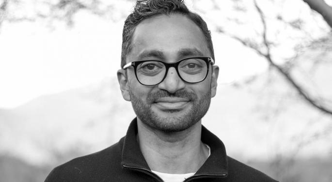 Inversores piden un ETF de Chamath Palihapitiya