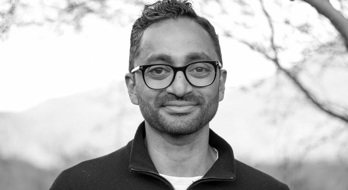 Chamath Palihapitiya's 12 SPAC, PIPE Deals: Tracking 2021 And Lifetime Performance
