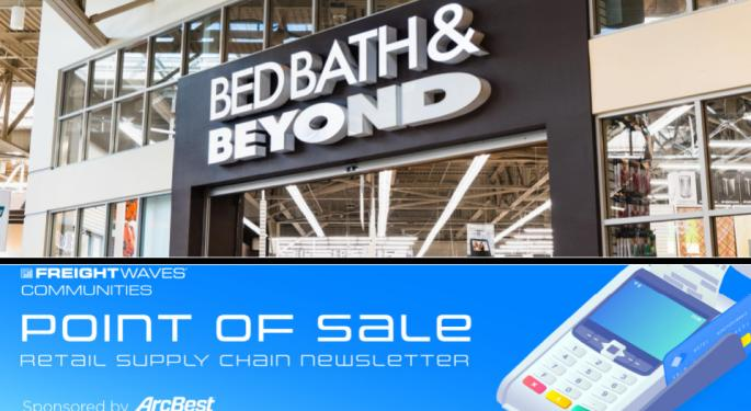 Bed, Bath & Beyond: Higher Freight Costs Spoiled The Quarter