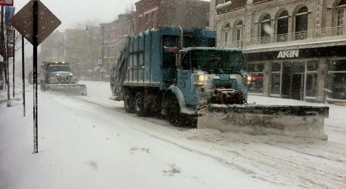 Snow, Ice To Slam Parts Of Northeast This Week, Rain Storm Out West
