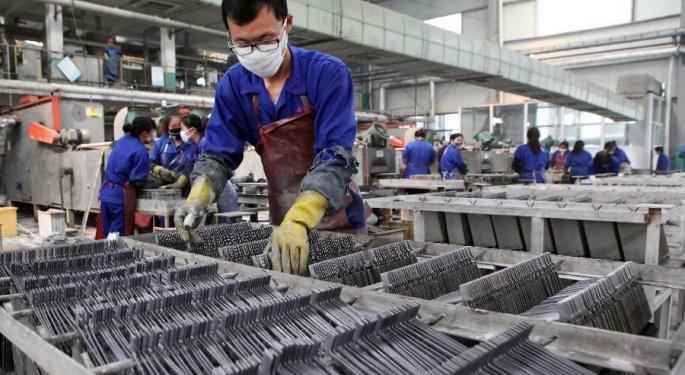China Manufacturing PMI Slumps, US Tariffs Not Necessarily The Culprit