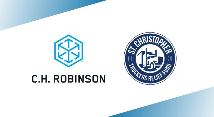 Today's Pickup: C.H. Robinson makes a $50,000 donation to St. Christopher Truckers Relief Fund