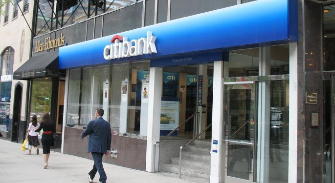 """Fed multa a Citigroup con 0M por """"deficiencias significativas"""""""