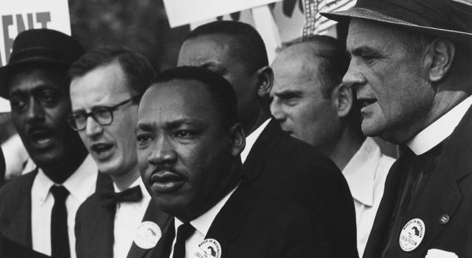 This Day In Market History: Dr. Martin Luther King Jr. Is Assassinated