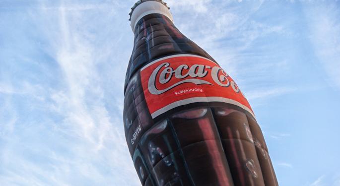 The Street's Reaction To Coca-Cola's Dip