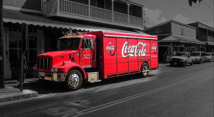 Carter Worth And Mike Khouw's The Coca-Cola Co Trade