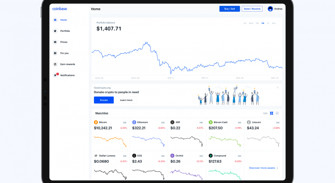 Why Coinbase Stock Has Analyst Remaining On The Sidelines