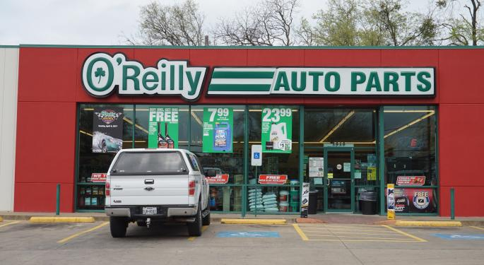 Auto Parts Stocks Are Getting Crushed Thanks To O'Reilly's Guidance Cut