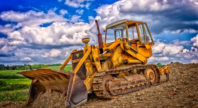 Why Caterpillar's Stock Is Trading Higher Today