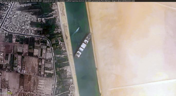 Ever Given, Giant Shipping Vessel Stranded On Suez Canal, Nearly Fully Re-Floated: Report
