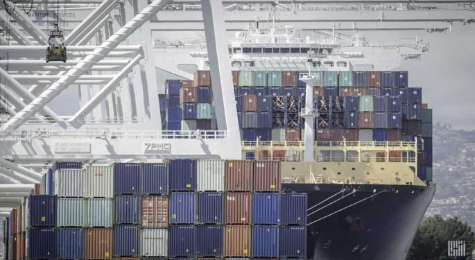Ocean Container Volumes Are About To Fall Off A Cliff