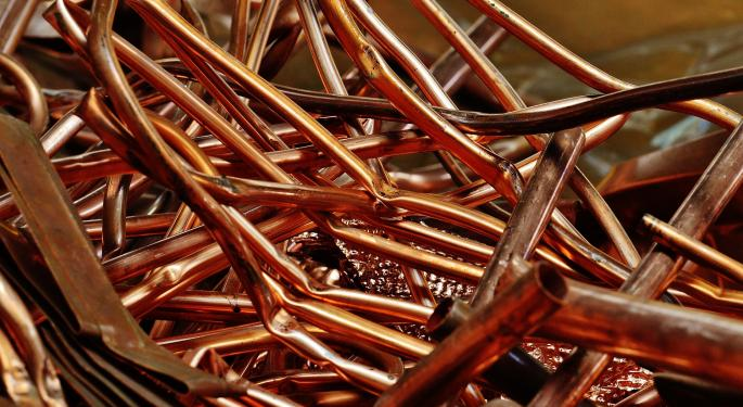 Copper Tries To Win Gold Among Commodities