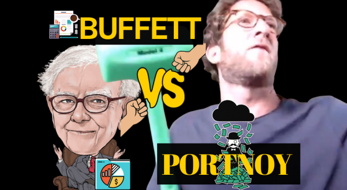 Warren Buffett Vs. Dave Portnoy: Who Would You Rather Have Run Your Portfolio?