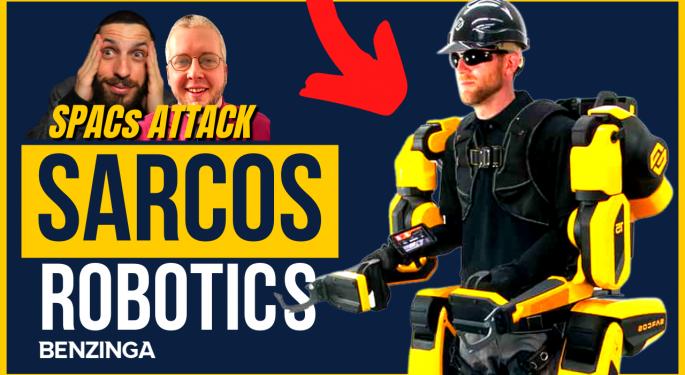 Exclusive: Sarcos Robotics CEO Ben Wolff Talks Company History, Guardian XO Exoskeleton On 'SPACs Attack'