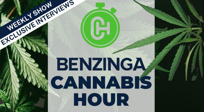Today 4pm ET: Benzinga Cannabis Hour Live With Barrington Rutherford, Judy Rinkus