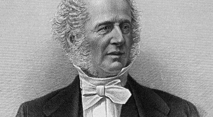 This Day In Market History: Cornelius Vanderbilt Prevents A Stock Market Crash — For One Day