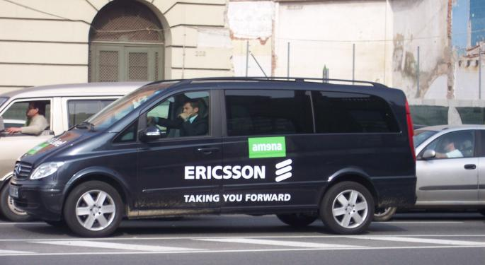 Goldman Slaps A Sell Rating On Ericsson
