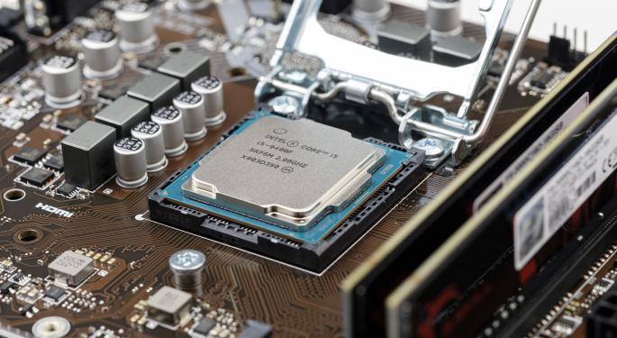 Why Intel's Stock Is Trading Higher Today