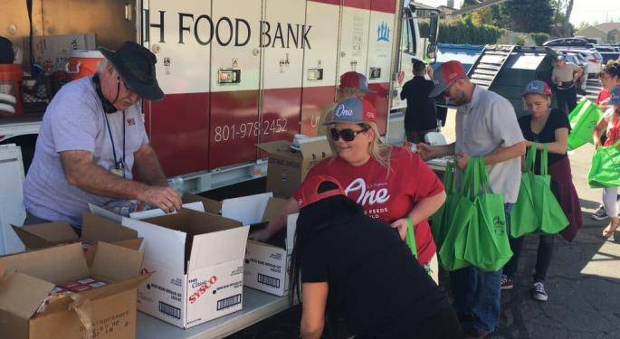 Today's Pickup: C.R. England Tops Four Million Meals Donated