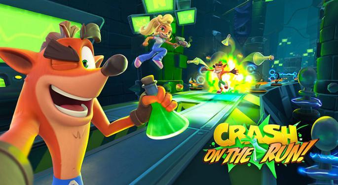 Crash Bandicoot Runs Again In New Mobile Game from King Digital Entertainment