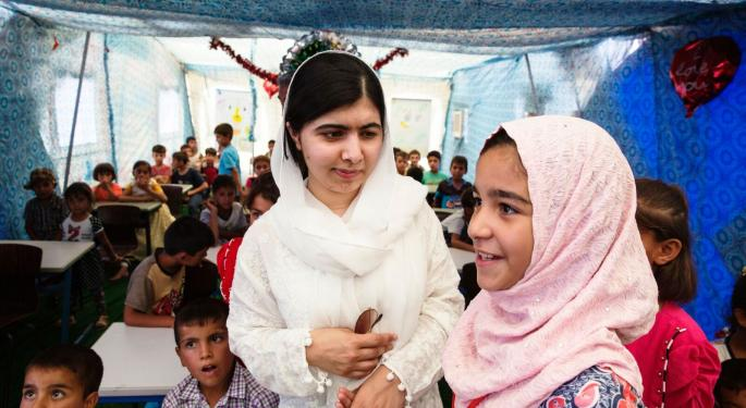 Apple TV+ Partners With Women's Rights Activist Malala Yousafzai