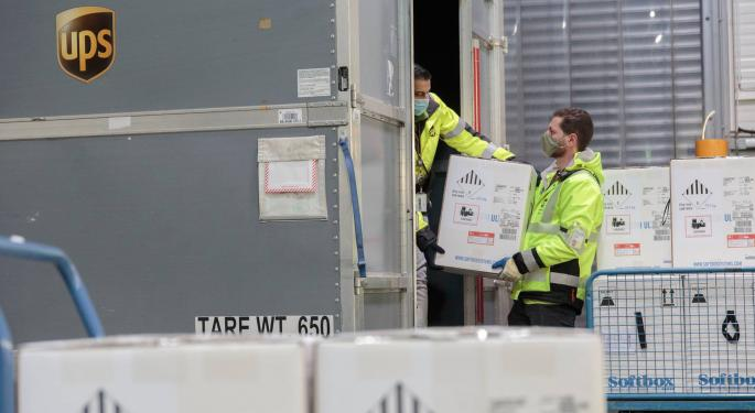 COVID Vaccine Delivery Drivers May Be Busy Christmas Day