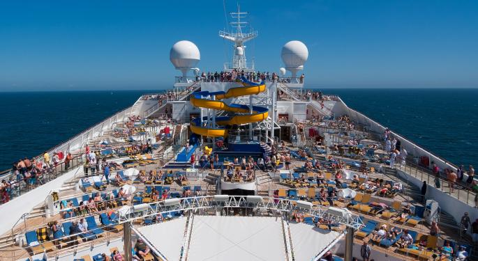 Why Royal Caribbean's Stock Is Trading Lower Today