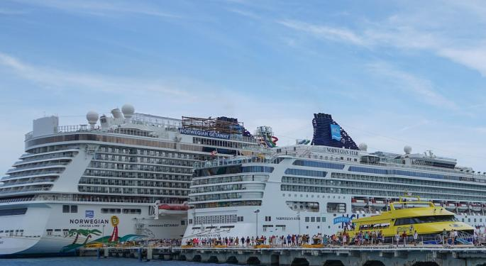 Why Cruise Line Stocks Are Trading Lower Today