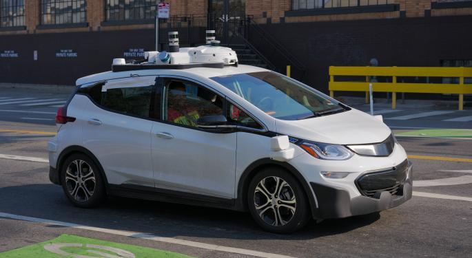 GM's Cruise Gets Regulatory Nod To Test Autonomous Vehicles In San Francisco