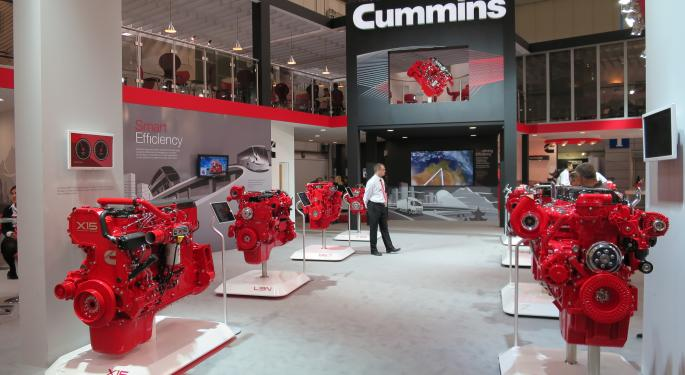 Analyst: Cummins' Earnings Visibility Clouded By Overhang, Peaking End Markets